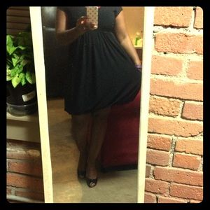 Petite Black Dress
